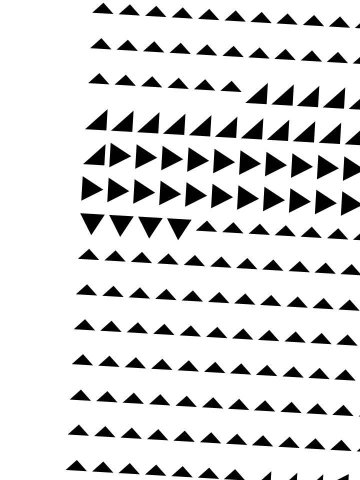zwarte driehoeken